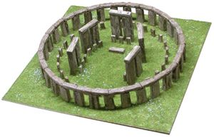 Aedes Ars - Stein Modellbau Stonehenge Amesbury England