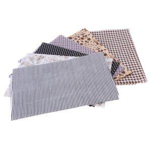 6 Stück Baumwollstoff Patchwork Stoffe DIY Gewebe Baumwolltuch zum Nähen