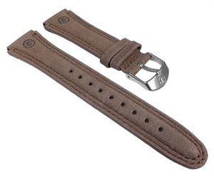 Timex Expedition Ersatzband Uhrenarmband Wildleder Braun 20mm T44381