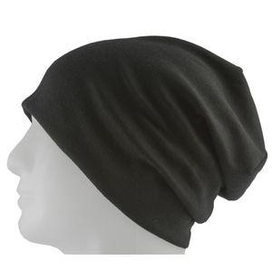 Oblique Unique Long Beanie XXL Mütze Slouch Trend Damen Herren Kinder Mütze - black