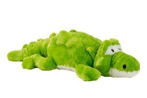 Krokodil 60 cm Kuscheltier Plüschtier Grün