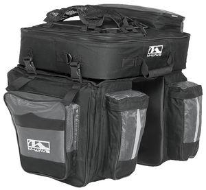 Fahrradtasche für Gepäckträger AMSTERDAM TRIPLE