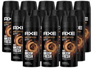 AXE Bodyspray Dark Temptation Deo Deospray Deodorant Spray Herren Männer Men ohne Aluminium 12x 150ml