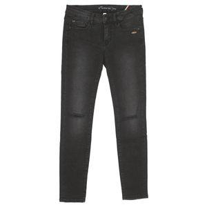 20066 Gang, Monique Skinny,  7/8 Damen Jeans Hose, Stretchdenim, black kneecut, W 32