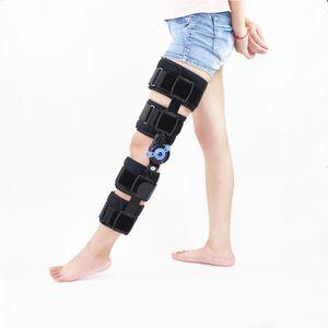 Orthopaedische Gelenk-Knieorthese Verstellbarer Schienenstabilisator Verstauchung Postoperative Gelenkstuetze fuer Hemiplegie-Flexionsverlaengerung