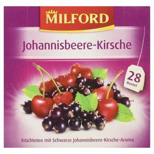 Milford Johannisbeere Kirsche Früchtetee fruchtig und mild 56g