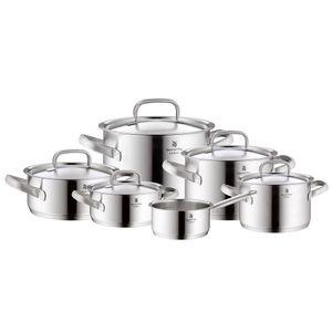 WMF Kochgeschirr-Set Gourmet Plus 6 tlg.