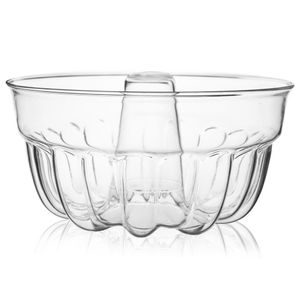 SIMAX Gugelhupfform Gugelhupf aus Borosilikatglas Runde Backform Kuchenform