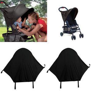 2x Kinderwagen Sonnenschutz Baby Sonnenverdeck Sonnendach für Kinderwagen
