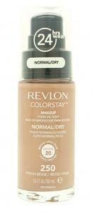 Revlon Colorstay 24Hrs Make-Up Spf 20 (250 Fresh Beige - Normal To Dry Skin) 30ml