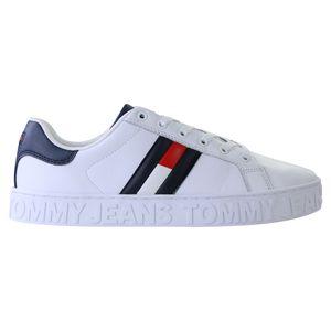 Tommy Hilfiger Low-Top Damen Sneaker Weiß (EN0EN011340K4) Größe: 37