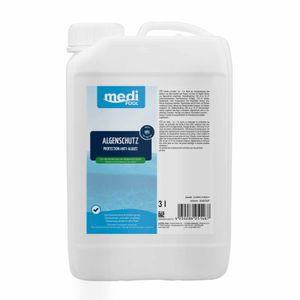 mediPOOL Algenschutz, Algenverhütung, Algenvernichter, Algenschutzmittel, Wasserpflege Inhalt:3 Liter