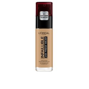 L'Oréal Paris Make-Up Designer Ineutralfaillible Founeutraldationeutral 260 Goldeneutral Suneutral, Flasche, Flüssigkeit, Beige, Golden Sun, Licht, Nackte Haut, Gebräunte Haut, Warm