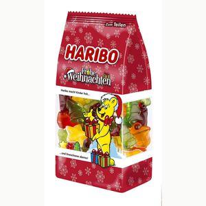 Haribo Frohe Weihnachten Standbeutel Fruchtgummi Bärchen 300g