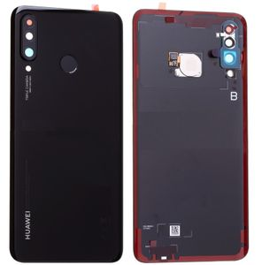 Huawei P30 Lite Akkudeckel Backcover Cover Midnight Black Schwarz 02352RPV