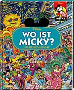 Disney: Wo ist Micky? - Wimmelbuch mit Micky Maus