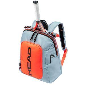 HEAD Kids Rebel Backpack Tennistasche Kinder Grau Orange