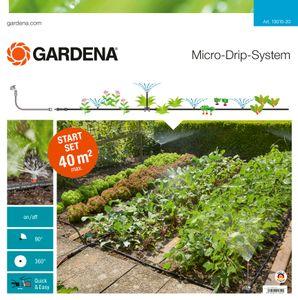 GARDENA Micro-Drip-System Start-Set Pflanzflächen 13015-20