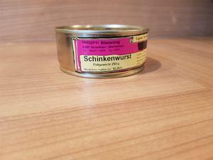 Schinkenwurst Dose Dosenwurst
