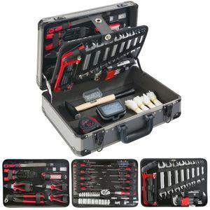 AREBOS Werkzeugkoffer 600 tlg Werkzeugbox Werkzeugkiste Werkzeugkasten Werkzeug -