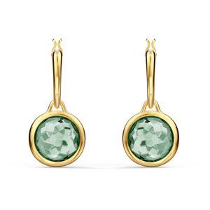 Swarovski Creolen 5572587 Tahlia Mini, grün, vergoldet