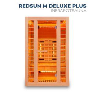 Infrarotkabine Redsun M Deluxe Plus