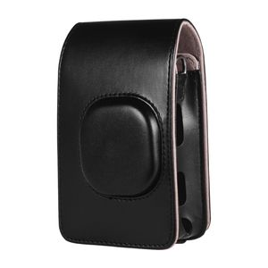 Kompakte Sofortbildkameratasche aus Kunstleder mit Schulterriemen Kompatibel mit Fujifilm Fuji Instax mini LiPlay