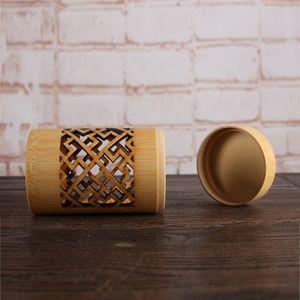 Japanische Stil Teedose Holz Aufbewahrungsdose für losen Tee