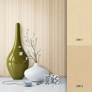 Tapete  Braun Vlies Landhaus Modern Streifen Textil Modern Landhaus  Streifen Linien  Dominik – Muster