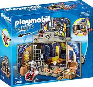 PLAYMOBIL 6156 - Aufklapp-Spiel-Box 'Ritterschatzkammer'