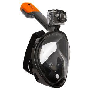 VIZU ExtremeX Schnorchelmaske inkl. Action-Kameraaufsatz - Größe M / L