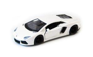 LAMBORGHINI Aventador LP700 Modellauto Modell Auto Spielzeugauto 52(Weiss)