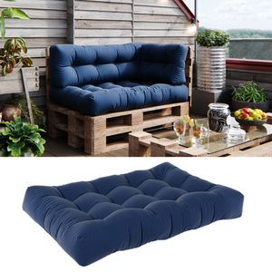 Vicco Palettenkissen Sitzkissen 120x80x15 Palettenmöbel Flocke blau
