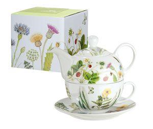 "Gilde Porzell Tea for one ""Wild Flowers"" 49455"