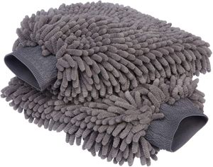 Deluxe Auto-Waschhandschuh, Mikrofaser, 2 Stück