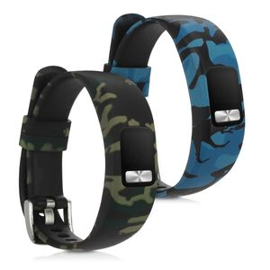 2x Armband kompatibel mit Garmin Vivofit 4