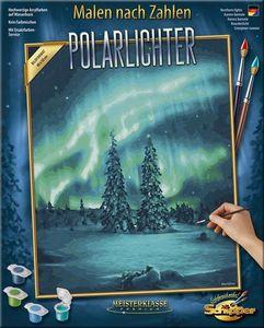 Schipper 609130813 Polarlichter Malen nach Zahlen