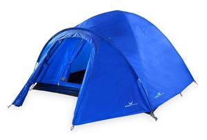 Black Crevice Zelt für 4 Personen, 205x240x130cm, blau