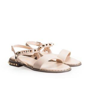 Twinset Sandalen -  191MCP190   Sandalo - Beige-  Größe: 37(EU)
