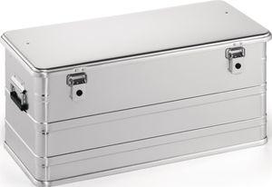 Aluminiumbox L782xB385xH367mm 91l m.Klapphebelverschlüssen m.Bohrungen