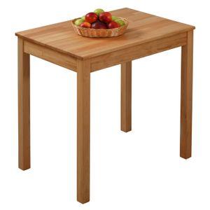 Krok Wood Esstisch Tomas aus Massivholz in Buche 70x50x75 cm