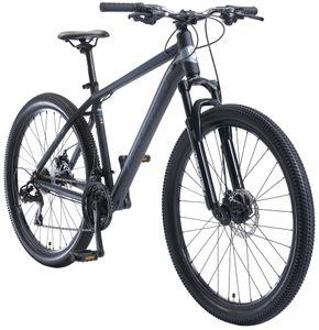 BIKESTAR Alu Mountainbike 27.5 Zoll   21 Gang Hardtail Sport MTB 18 Zoll Rahmen Scheibenbremse Federgabel   Blau