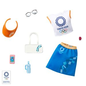 Barbie Fashions Komplettes Outfit & Accessoires (Licensed) Olympics