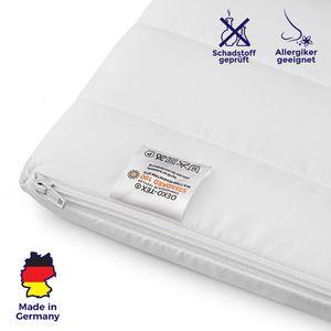Matratzenauflage - Hochwertiger Kaltschaum Matratzentopper - Matratzenauflage 180x200
