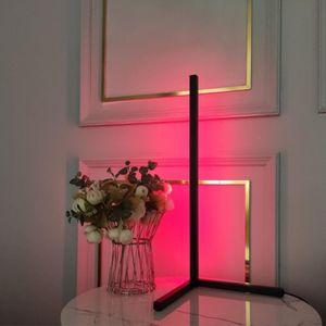 RGB LED Stehlampe,Eck-Stehleuchte mit Fernbedienung 7W Dimmbare Stehlampe für Wohnzimmer Schlafzimmer Weiß