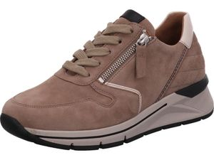 Gabor Shoes     beige kombi, Größe:71/2, Farbe:sabbia/ivory/schw. 4
