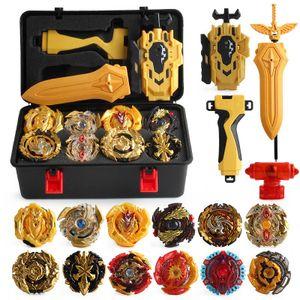 Kreisel Beyblade Burst Metall Bayblade Top Beyblade Spielzeug Launcher Lot  +Tragetasche für Kinder Gyro Fighting Gyroscope 12 Stück Kampfkreisel Set