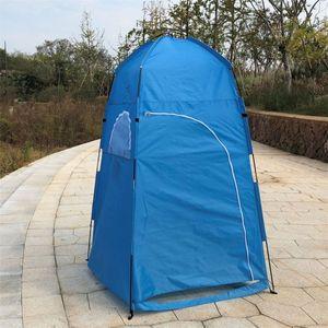 Sunnyme Pop up Toilettenzelt Umkleidezelt Camping Duschzelt Outdoor Mobile Toilette Umkleidekabine Lagerzelt Blau