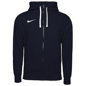 NIKE Team Club 20 FZ Hoody Herren Zip Zipper Kapuzenjacke Sweatshirt blau, Bekleidungsgröße:XL