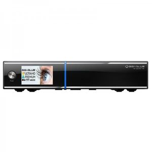GigaBlue UHD Quad 4K Receiver 2x DVB-S2 FBC 1x DVB-C/T2 Tuner 2TB